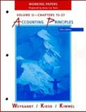 Accounting Principles : Working Papers, Weygandt, Jerry J., 0471194425