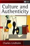 Culture and Authenticity 9781405124423
