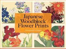 Japanese Woodblock Flower Prints, Tanigami Konan, 0486464423