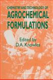 Chemistry and Technology of Agrohemical Formulations, Knowles, A., 0751404438
