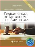 Bundle : Fundamentals Litigation Paralegals 6e and Blackboard Access, Maerowitz, 0735584435