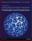 Organization Theory : Challenges and Perspectives, McAuley, John and Johnson, Philip, 0273724436