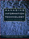 Managing Information Technology, Martin, E. Wainright and Brown, Carol V., 0131454439