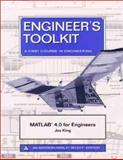 MATLAB 4.0 for Engineers : Toolkit, King, Joe, 0805364439