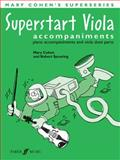 Superstart Viola Piano Accompaniments, Alfred Publishing Staff, 0571524443