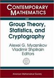 Group Theory, Statistics, and Cyptography, AMS Special Session Combinatorial and Statistical Group Theory (2003 : New York University), Alexei G. Myasnikov, 0821834444