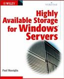 Highly Available Storage for Windows Servers, Massiglia, Paul, 0471034444