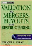 Valuation for Mergers, Buyouts, and Restructuring, Arzac, Enrique R., 0471644447