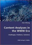Content Analyses in the Www Er, Jian Zhang, 383643444X