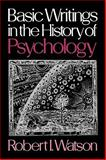 Basic Writings in the History of Psychology