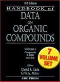 Handbook of Data on Organic Compounds, Lide, David R., 0849304458