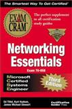MCSE Networking Essentials Exam Cram : Adaptive Edition, Tittel, Ed, 1576104451