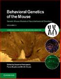 Genetic Mouse Models of Neurobehavioral Disorders, Pietropaolo, Susanna and Sluyter, Frans, 1107044456