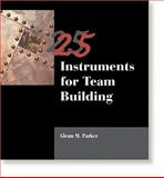 25 Instruments for Team Building, Parker, Glenn, 0874254450