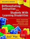 Differentiating Instruction for Students with Learning Disabilities : Best Teaching Practices for General and Special Educators, , 1412954452