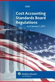 Cost Accounting Standards Board Regulations as of January 1 2011, CCH Editorial, 0808024469