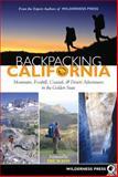Backpacking California, Wilderness Press Staff, 0899974465