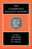 The Rise of Rome to 220 BC, , 0521234468