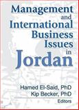 Management and International Business Issues in Jordan 9780789014467