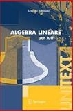 Algebra Lineare : Per Tutti, Robbiano, Lorenzo, 8847004462