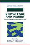 Knowledge and Inquiry : Essays on the Pragmatism of Isaac Levi, Olsson, Erik J., 052131447X