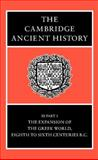 The Cambridge Ancient History, , 0521234476