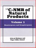 13C-NMR of Natural Products : Volume 1 Monoterpenes and Sesquiterpenes, , 1461364477