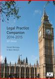 Legal Practice Companion 2014/15, Gerald Montagu and Mark Weston, 1780434472