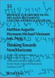 Thinking Towards New Horizons : Collected Communications to the XIXth Congress of the International Organization for the Study of the Old Testament, Ljubljana 2007, , 3631584474
