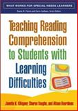 Teaching Reading Comprehension to Students with Learning Difficulties, Klingner, Janette K. and Vaughn, Sharon, 1593854471