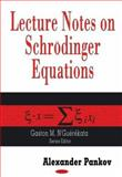 "Lecture Notes on Schrodinger Equations : A Volume in ""Contemporary Mathematical Studies"" Series, Pankov, A. A., 1600214479"