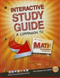Glencoe Math Accelerated, Interactive Study Guide, SE, McGraw-Hill Education Staff, 0076644480