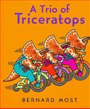 A Trio of Triceratops, Bernard Most, 0152014489