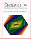 Statistics for Social Data Analysis, Bohrnstedt, George W. and Knoke, David, 0875814484