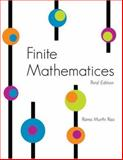 Finite Mathematics, Rao, Rama, 0757544487