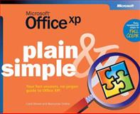 Microsoft Office XP Plain and Simple, Brown, Carol, 0735614490