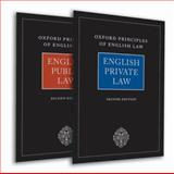English Private Law and English Public Law, , 0199554501
