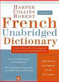 HarperCollins Robert French Dictionary, HarperCollins Publishers Ltd. Staff, 0060084502