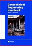 Geotechnical Engineering Handbook, Procedures, , 3433014507