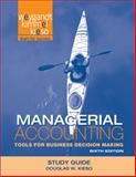 Managerial Accounting : Tools for Business Decision Makers, Kimmel, Paul D. and Weygandt, Jerry J., 1118064518