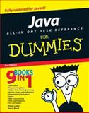 Java All-in-One for Dummies, Doug Lowe and Barry Burd, 0470124512