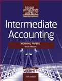 Intermediate Accounting Vol. 1 : Working Papers, Kieso, Donald E. and Weygandt, Jerry J., 1118014510