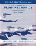 A Brief Introduction to Fluid Mechanics, Young, Donald F. and Munson, Bruce R., 0470924519