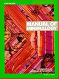 Manual of Mineralogy (After James D. Dana), Klein, Cornelis and Hurlbut, Cornelius, 047157452X