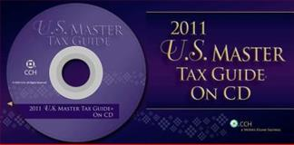 U. S. Master Tax Guide CD 2001, CCH Tax Editors, 0808024523