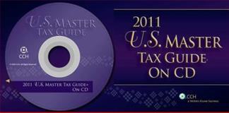 U. S. Master Tax Guide CD 2001, CCH Tax Editors, 0808024523