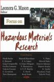 Focus on Hazardous Materials Research, Mason, Leonora G., 1600214525