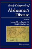 Early Diagnosis of Alzheimer's Disease, , 0896034526