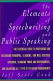 The Elements of Speechwriting and Public Speaking 9780028614526