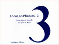 Long Vowel Sounds, Gail V. Rice, 0883364522